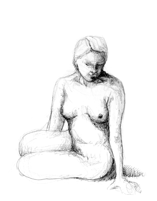 nude-pen and pencil
